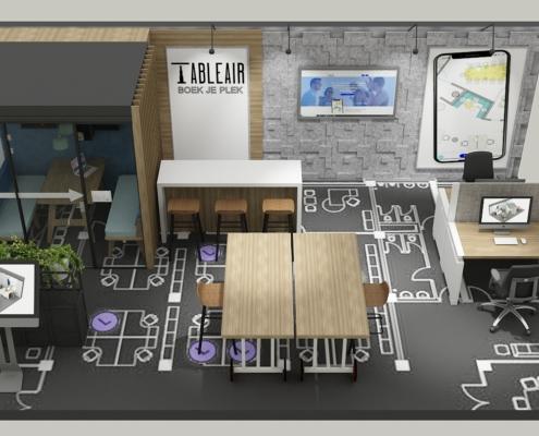stand TableAir Vakbeurs Facilitair 2019