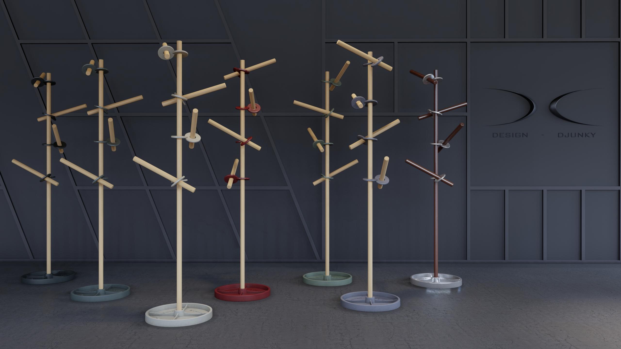Sticks & RIngs kapstok Design Djunky