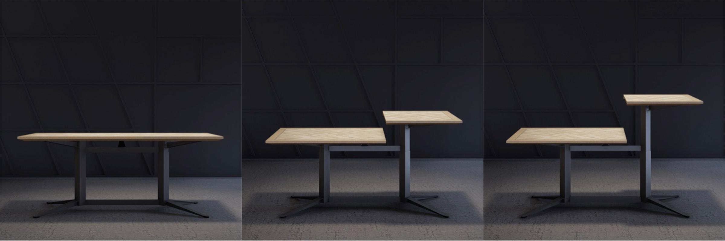 Kitchen Table zit-sta thuiswerkplek